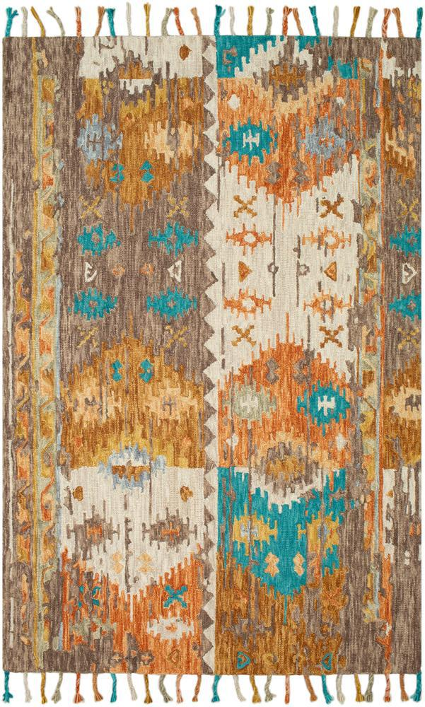Bahia Burnt Orange 8' x 10' Rug