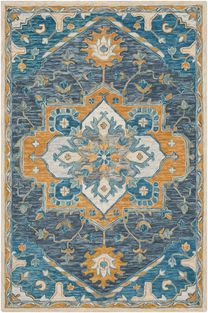 Bahia Dark Blue 8' x 10' Rug