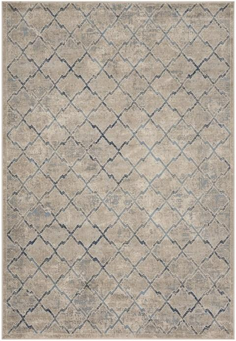 Safavieh Brentwood 809 Light Grey / Blue-Area Rug-Safavieh-The Rug Truck