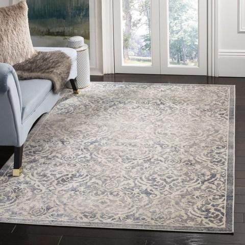 Safavieh Brentwood 810 Light Grey / Blue-Area Rug-Safavieh-The Rug Truck