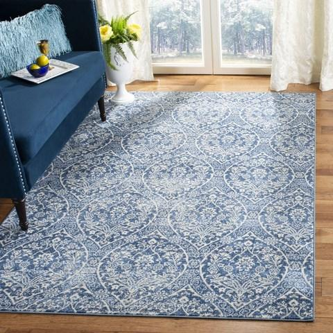 Safavieh Brentwood 860 Navy / Light Grey-Area Rug-Safavieh-The Rug Truck