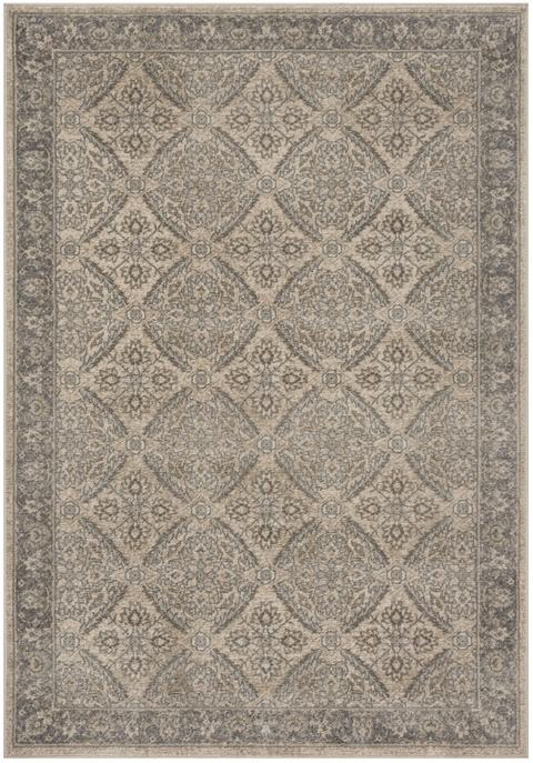 Safavieh Brentwood 863 Cream / Grey-Area Rug-Safavieh-The Rug Truck