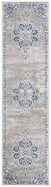 Safavieh Brentwood 867 Light Grey / Blue-Area Rug-Safavieh-The Rug Truck