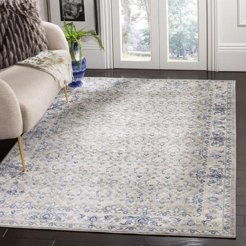 Safavieh Brentwood 869 Light Grey / Blue-Area Rug-Safavieh-The Rug Truck