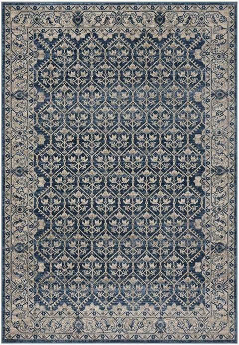 Safavieh Brentwood 869 Navy / Light Grey-Area Rug-Safavieh-The Rug Truck