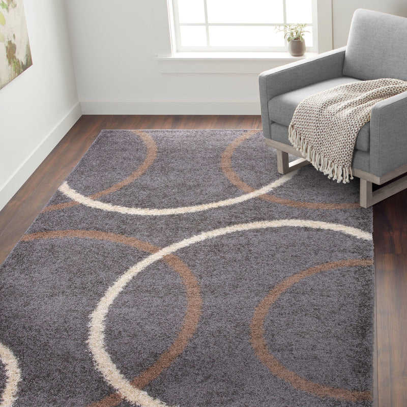 "Hampton 762 Gray Area Rug-Area Rug-World Rug Gallery-3'3"" x 5'-The Rug Truck"