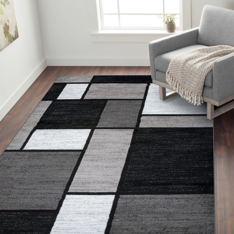 Alpine 106 Gray Area Rug-Area Rug-World Rug Gallery-2' x 3'-The Rug Truck