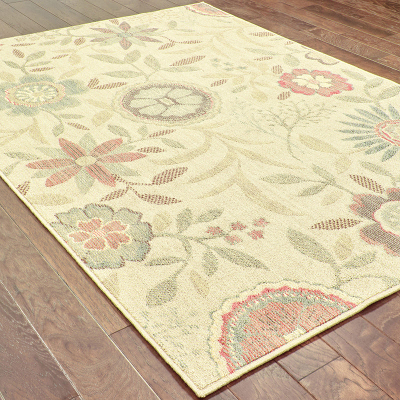 "Tommy Bahama Home Cabana 1330w Beige/Multi-Area Rug-Tommy Bahama Home-3'10"" X 5' 5""-The Rug Truck"