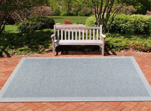 Capri Cr1006 Blue Area Rugs