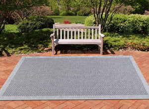 Capri Cr1018 Charcoal Area Rugs