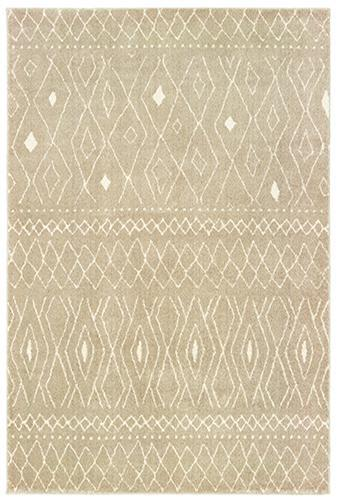 "The Rug Truck Daly 9665b Sand Area Rug (7'10"" X 10')"