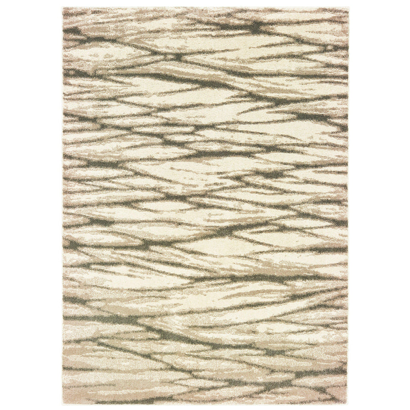 "The Rug Truck Daly 9671c Ivory Area Rug (7'10"" X 10')"