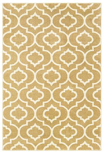 "The Rug Truck Daly 9672e Gold Area Rug (7'10"" X 10')"