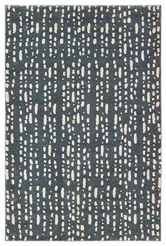 "The Rug Truck Daly 9673b Blue Area Rug (7'10"" X 10')"