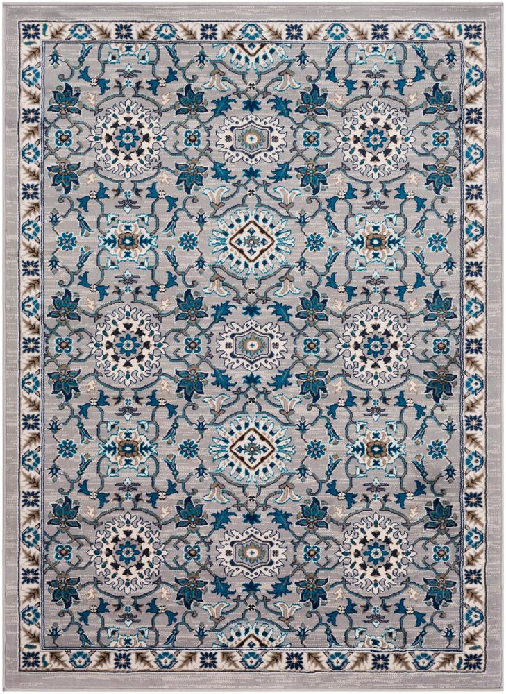 Clairmont CMT-2302 Medium Gray Area Rug-Area Rug-Surya-2' x 3'-The Rug Truck