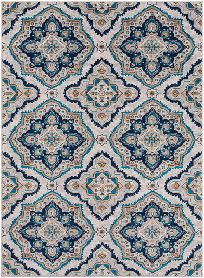 Clairmont CMT-2306 Medium Gray Area Rug-Area Rug-Surya-2' x 3'-The Rug Truck