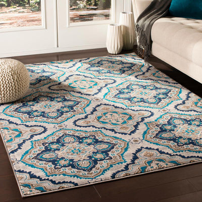 Clairmont CMT-2306 Medium Gray Area Rug-Area Rug-Surya-The Rug Truck