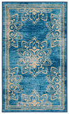 "Safavieh Collection Inspired by Disney's Live Action Film Aladdin - Wonder Rug, Turquoise / Gold-Area Rug-Safavieh-2' 3"" X 3' 9""-The Rug Truck"