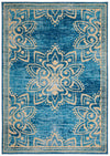 Safavieh Collection Inspired by Disney's Live Action Film Aladdin - Wonder Rug, Turquoise / Gold-Area Rug-Safavieh-5' X 7'-The Rug Truck