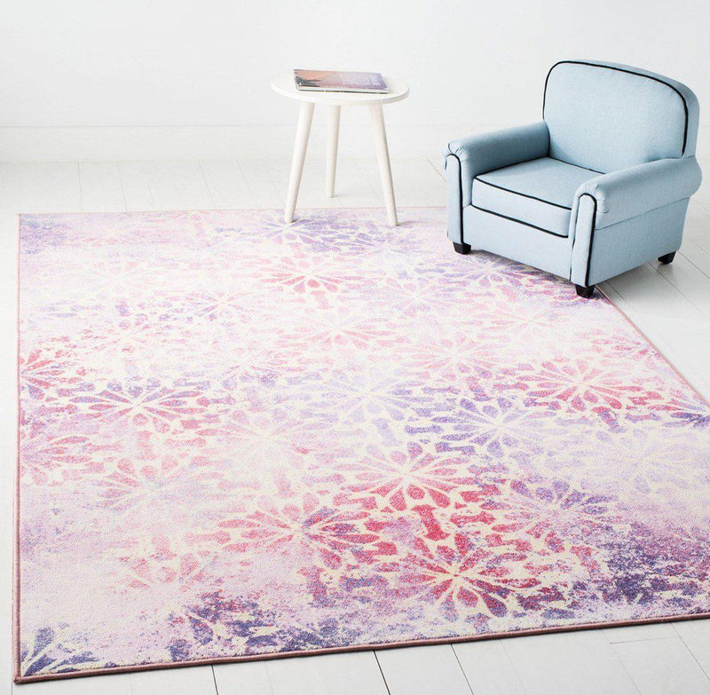 "Safavieh Collection Inspired by Disney's Live Action Film Aladdin - Jasmine Rug, Purple / Pink-Area Rug-Safavieh-2' 3"" X 3' 9""-The Rug Truck"