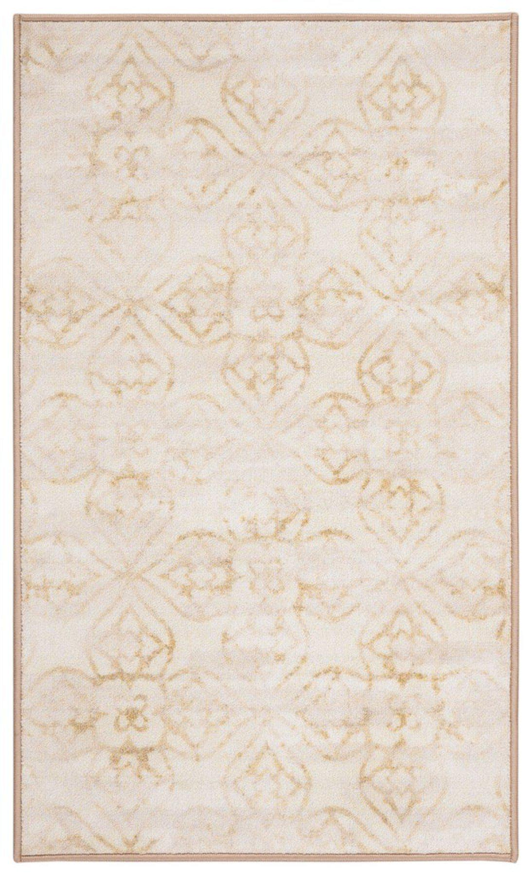 "Safavieh Collection Inspired by Disney's Live Action Film Aladdin - Desert Rug, Ivory / Gold-Area Rug-Safavieh-2' 3"" X 3' 9""-The Rug Truck"