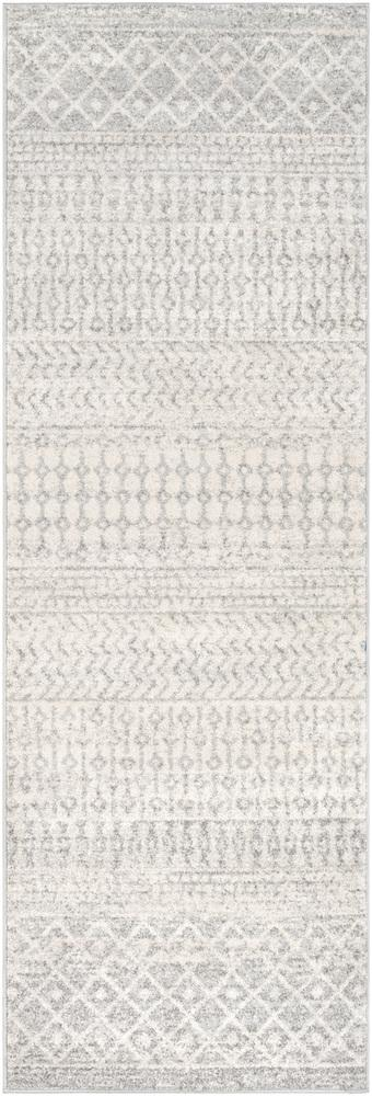 "Elaziz ELZ-2308 Light Gray Area Rug-Area Rug-Surya-2'7"" x 10'-The Rug Truck"