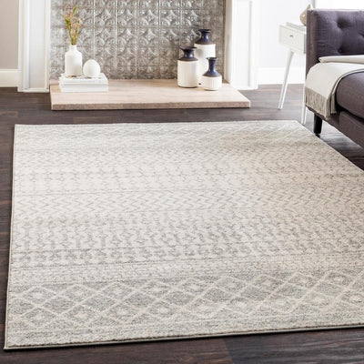 Elaziz ELZ-2308 Light Gray Area Rug-Area Rug-Surya-The Rug Truck