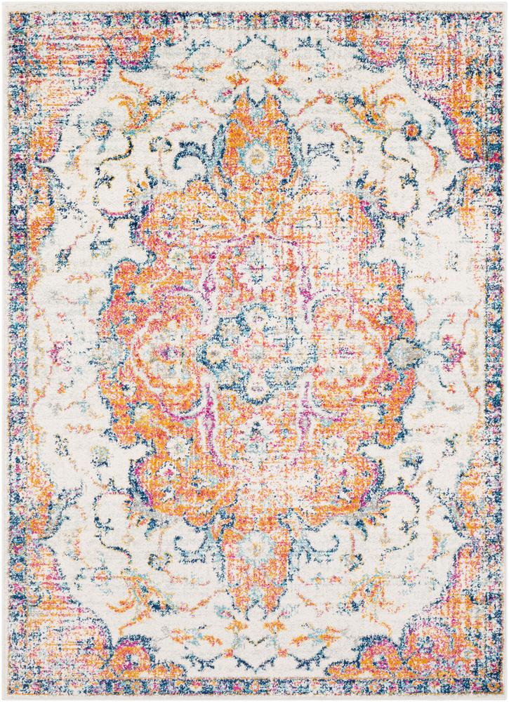 Elaziz ELZ-2314 Bright Orange Area Rug-Area Rug-Surya-2' x 3'-The Rug Truck