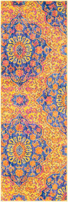 "Elaziz ELZ-2318 Bright Orange Area Rug-Area Rug-Surya-2'7"" x 7'6""-The Rug Truck"