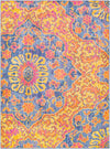 Elaziz ELZ-2318 Bright Orange Area Rug-Area Rug-Surya-2' x 3'-The Rug Truck