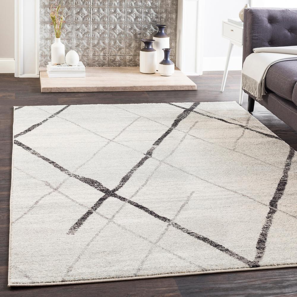 Elaziz ELZ-2323 Light Gray Area Rug-Area Rug-Surya-2' x 3'-The Rug Truck