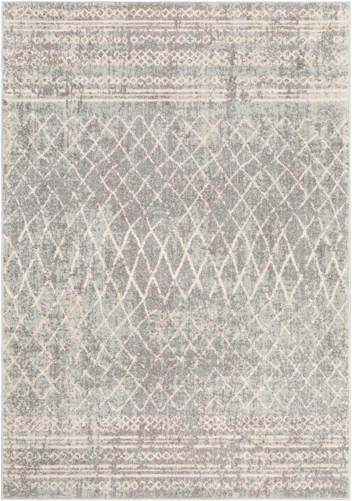Elaziz ELZ-2340 Medium Gray Area Rug-Area Rug-Surya-2' x 3'-The Rug Truck