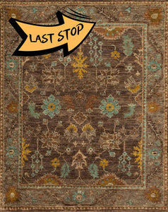 Empress Eu-01 Brown / Taupe 2-0 X 3-0 Area Rug
