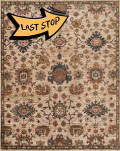 Empress Eu-03 Beige / Multi 2-0 X 3-0 Area Rug