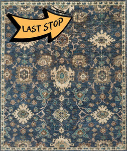 Empress Eu-03 Denim / Beige 2-0 X 3-0 Area Rug