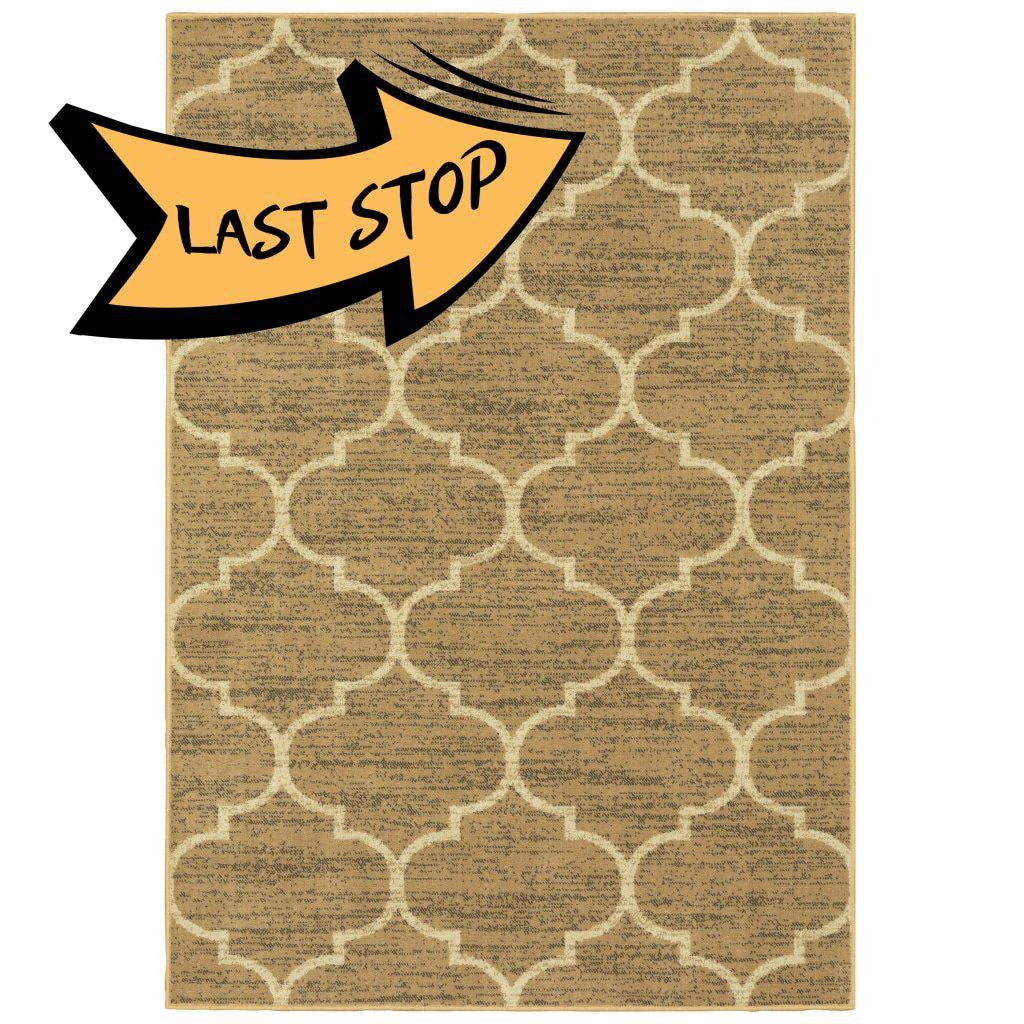 Evandale 9853A Beige/ivory 110 X 7 6 Area Rug