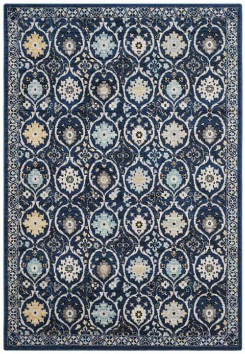 Safavieh Evoke 210 Royal / Ivory-Area Rug-Safavieh-The Rug Truck
