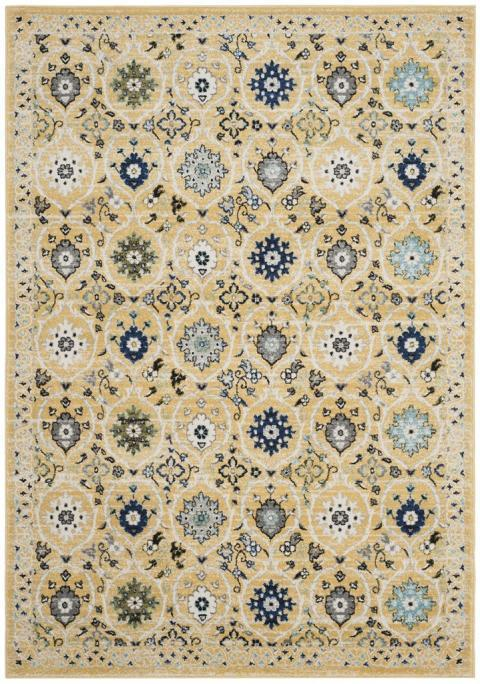 Safavieh Evoke 210 Gold / Ivory-Area Rug-Safavieh-The Rug Truck