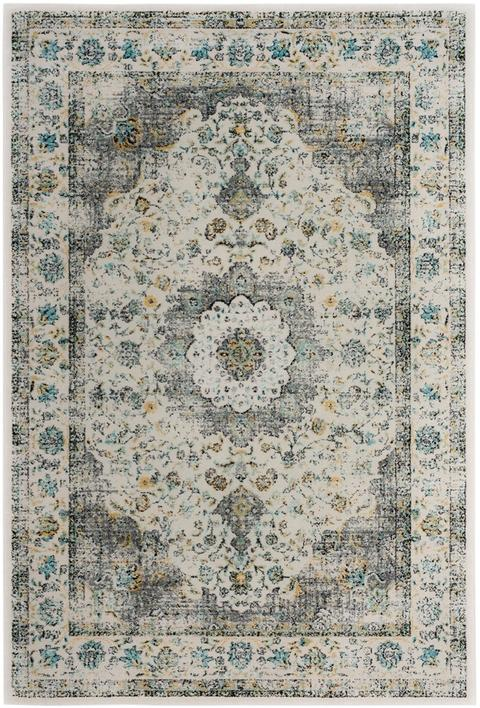Safavieh Evoke 220 Grey / Gold-Area Rug-Safavieh-The Rug Truck