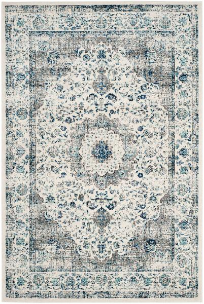 Safavieh Evoke 220 Grey / Ivory-Area Rug-Safavieh-The Rug Truck