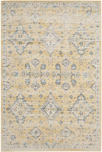 Safavieh Evoke 224 Gold / Ivory-Area Rug-Safavieh-The Rug Truck