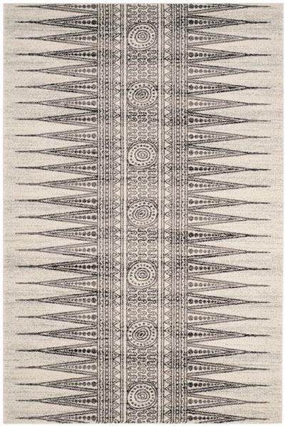 Safavieh Evoke 226 Ivory / Grey-Area Rug-Safavieh-The Rug Truck
