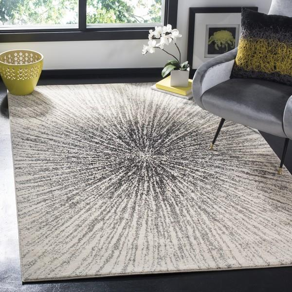 Safavieh Evoke 228 Black / Ivory-Area Rug-Safavieh-The Rug Truck