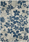 Safavieh Evoke 236 Grey / Light Blue-Area Rug-Safavieh-The Rug Truck