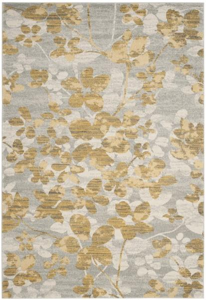 Safavieh Evoke 236 Grey / Gold-Area Rug-Safavieh-The Rug Truck