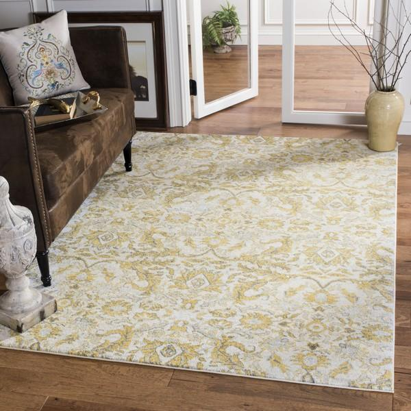 Safavieh Evoke 238 Ivory / Gold-Area Rug-Safavieh-The Rug Truck