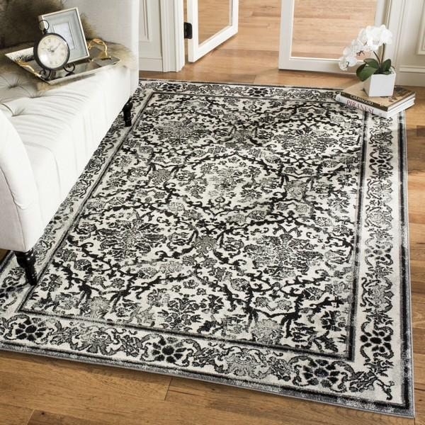 Safavieh Evoke 242 Ivory / Grey-Area Rug-Safavieh-The Rug Truck