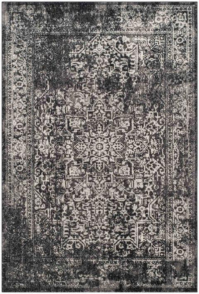 Safavieh Evoke 256 Black / Grey-Area Rug-Safavieh-The Rug Truck
