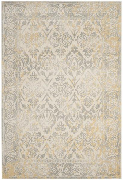Safavieh Evoke 264 Ivory / Grey-Area Rug-Safavieh-The Rug Truck