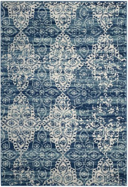 Safavieh Evoke 266 Royal / Ivory-Area Rug-Safavieh-The Rug Truck